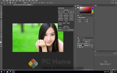 Ultimate Retouch Panel 主界面