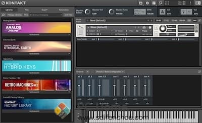 Native Instruments Kontakt 界面